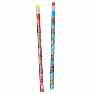 Paw Patrol Pack Of 8 Wooden Pencils